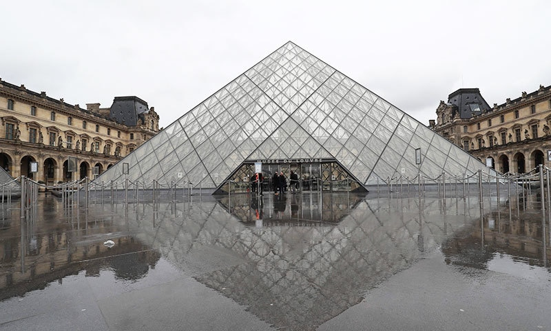 میوزیم میں 35 ہزار آرٹ کے نمونے موجود ہیں—فوٹو: اے ایف پی