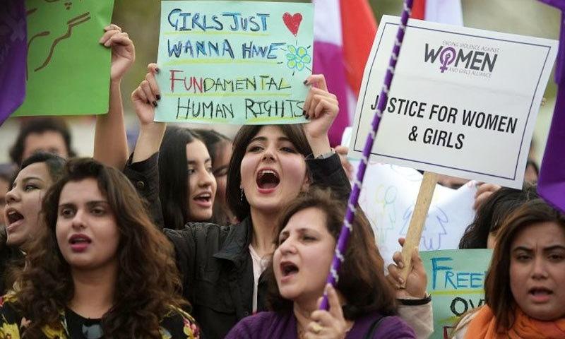 آئین و قانون کے مطابق 'عورت مارچ' کو روکا نہیں جا سکتا، عدالت