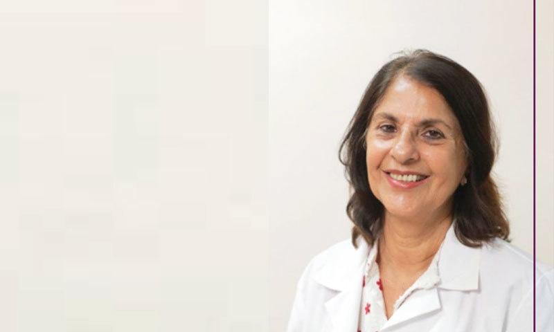 ڈاکٹر نسیم صلاح الدین انڈس ہسپتال میں پھیلنے والی بیماریوں کے شعبے کی سربراہ ہیں—فوٹو: انڈس ہسپتال