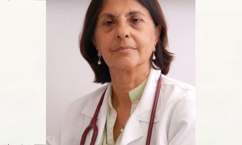 ڈاکٹر نسیم صلاح الدین ماہر وبائی امراض ہیں—فوٹو: انڈس ہسپتال