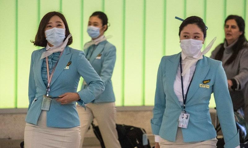 دنیا بھر میں سب سے زیادہ ایئرلائن کمپنیوں کو وائرس کی وجہ سے مالی مشکلات کا سامنا ہے—فوٹو: اے ایف پی