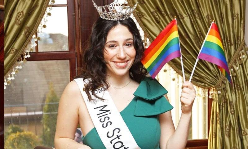 دوشیزہ نے جہاں بائی سیکسوئیل ہونے کا اعتراف کیا، وہیں خود کو ٹرانس جینڈر کا حمایتی بھی قرار دیا—فوٹو: نیو یاک پوسٹ