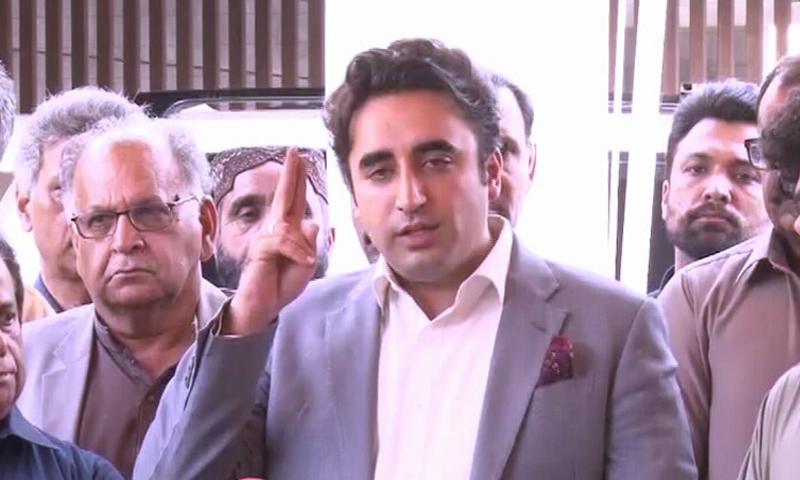 Imran himself gave NRO to send Nawaz abroad: Bilawal