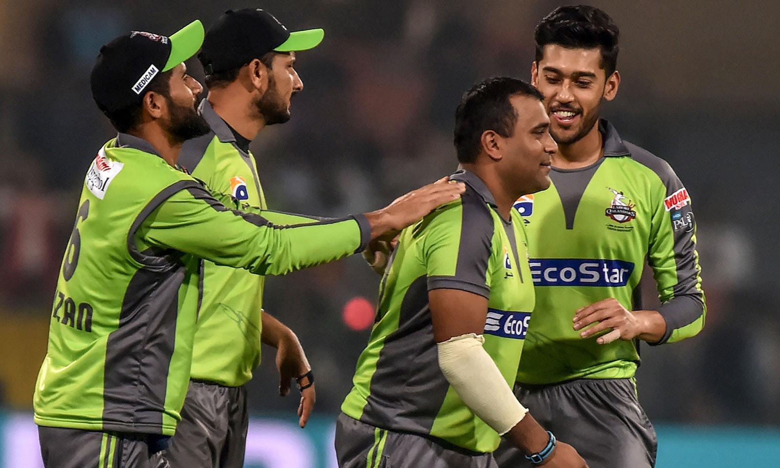 سمیت پٹیل نے لاہور قلندرز کے لیے گزشتہ میچ میں اچھی کارکردگی دکھائی تھی لیکن یونائیٹڈ کے خلاف ناکام ہوئے—فوٹو:ائے ایف پی