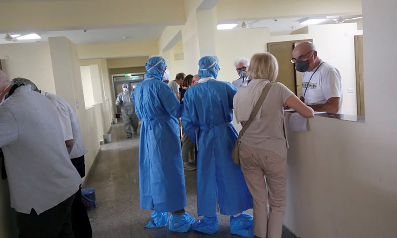 Italian tourists in India quarantined