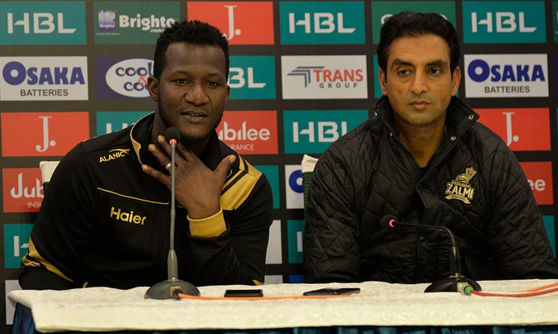Peshawar Zalmi announced on Thursday that it has appointed Daren Sammy as head coach of the team. — Photo provided by author