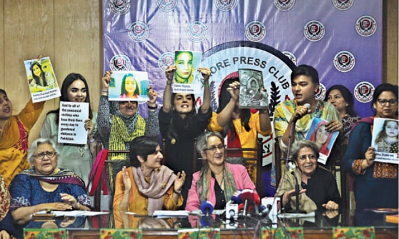 Aurat March core body defends bodily rights, presents manifesto