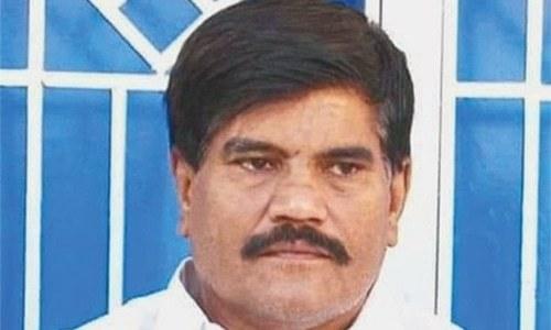 Journalist Aziz Memon was found dead in an irrigation waterway in Naushahro Feroze district. — Dawn/File