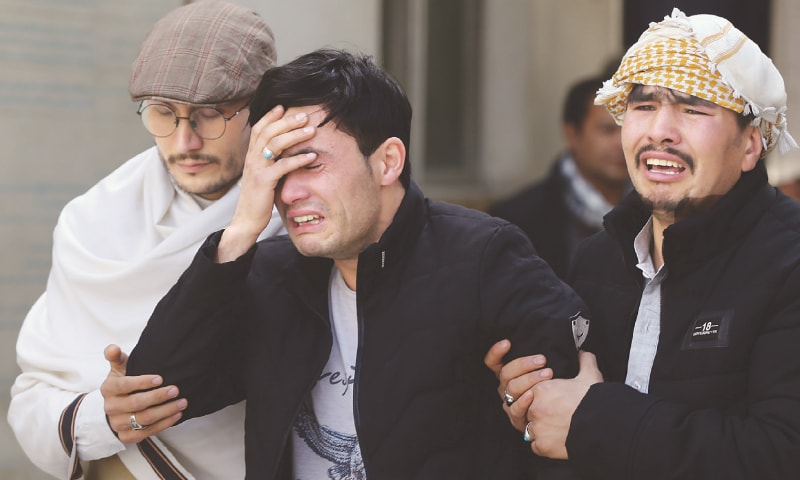 29 slaughtered in attack on Hazara rally in Kabul