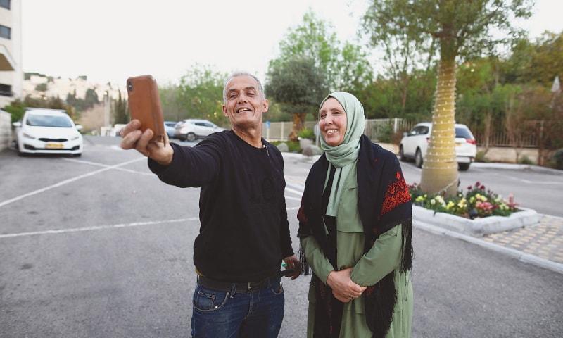 نو منتخب باحجاب خاتون فسلطینی نژاد ہیں—فوٹو: رائٹرز