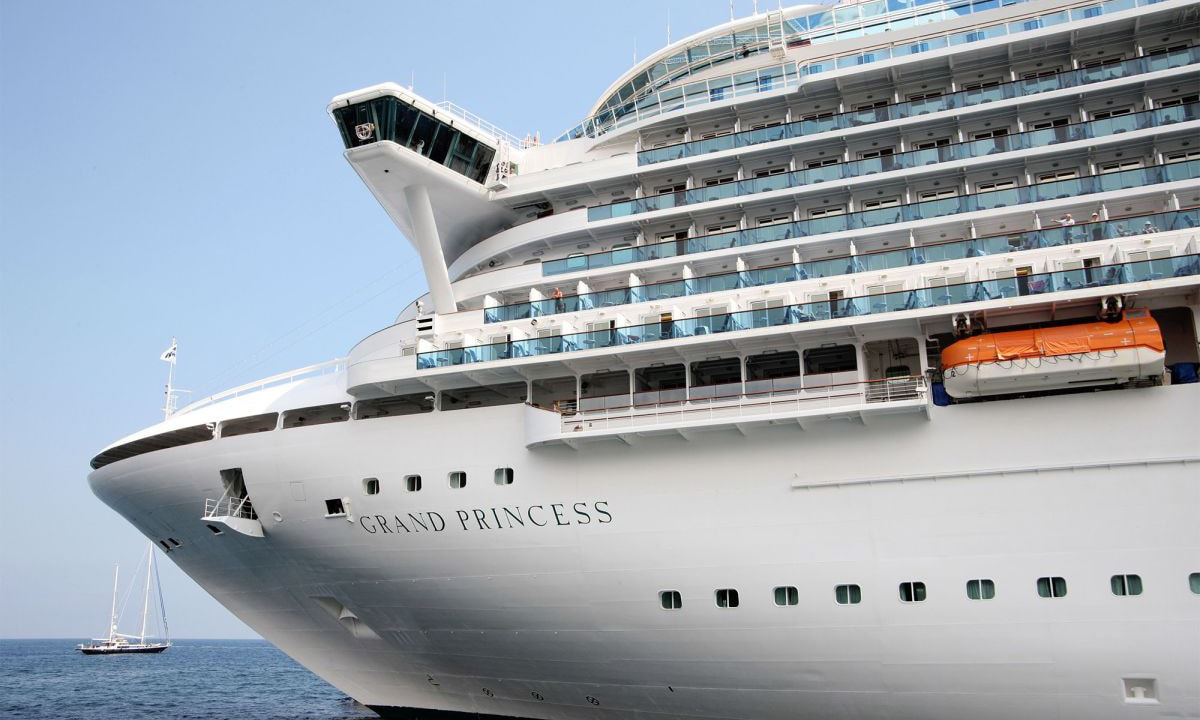 21 people test positive for coronavirus aboard cruise ship off San Francisco