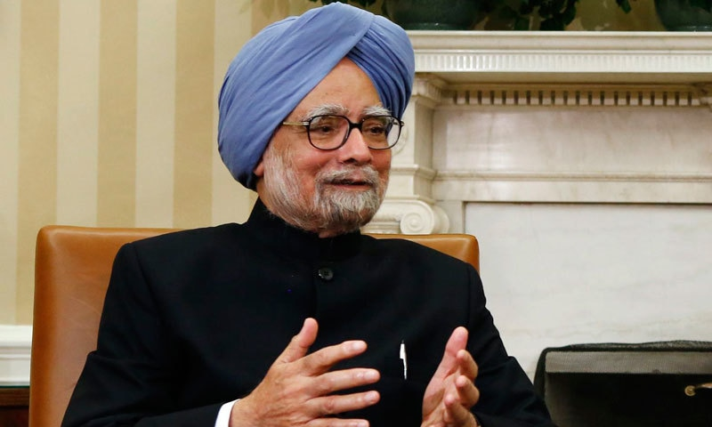 Manmohan Singh called on Indian Prime Minister Narendra Modi to convince the nation not just through his words, but also through his actions. — Reuters/File