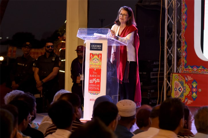Egyptian writer Ahdaf Soueif, one of two keynote speakers at the closing ceremony | White Star/Tahir Jamal