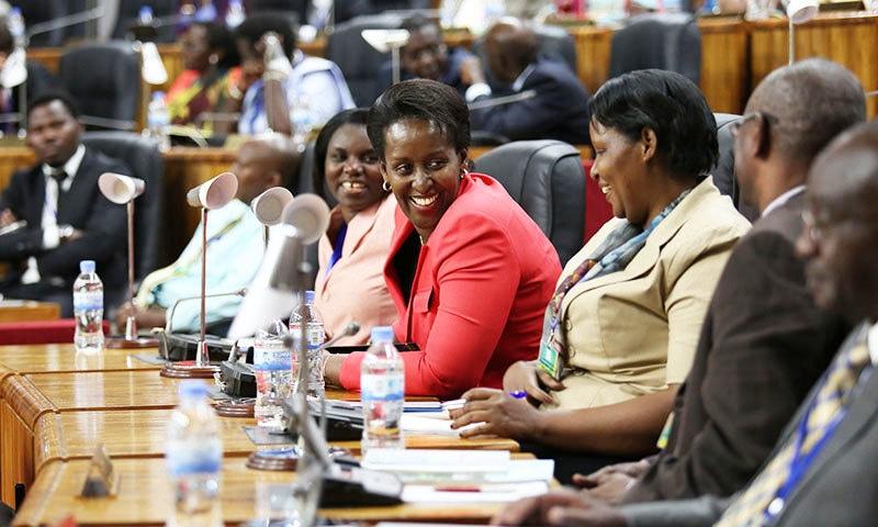 روانڈا میں 67 سے 68 فیصد خواتین پارلیمنٹ کا حصہ ہیں—فائل فوٹو: آل افریقہ