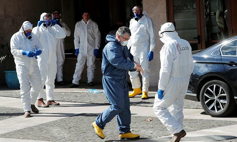 اٹلی میں ڈیڑھ کروڑ افراد پر قرنطینہ قوانین کا لازمی اطلاق