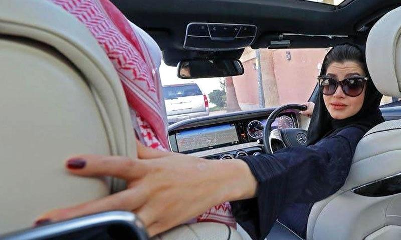 سعودی عرب میں ایک لاکھ 74 ہزار خواتین کو ڈرائیونگ لائسنس جاری