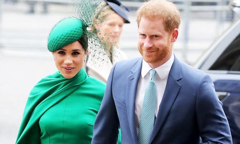 شہزادہ ہیری اور میگھن مارکل کی شاہی حیثیت سے باضابطہ علیحدگی