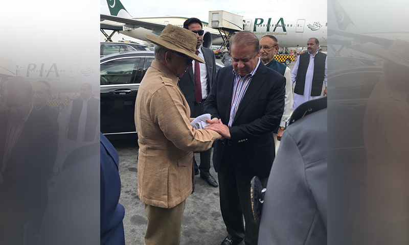 Shehbaz Sharif had left for London last year, along with PML-N supremo and his older brother Nawaz Sharif, who was seeking medical treatment. — DawnNewsTV/File