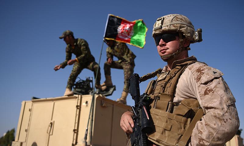 افغانستان سے امریکی افواج کے انخلا کا عمل شروع