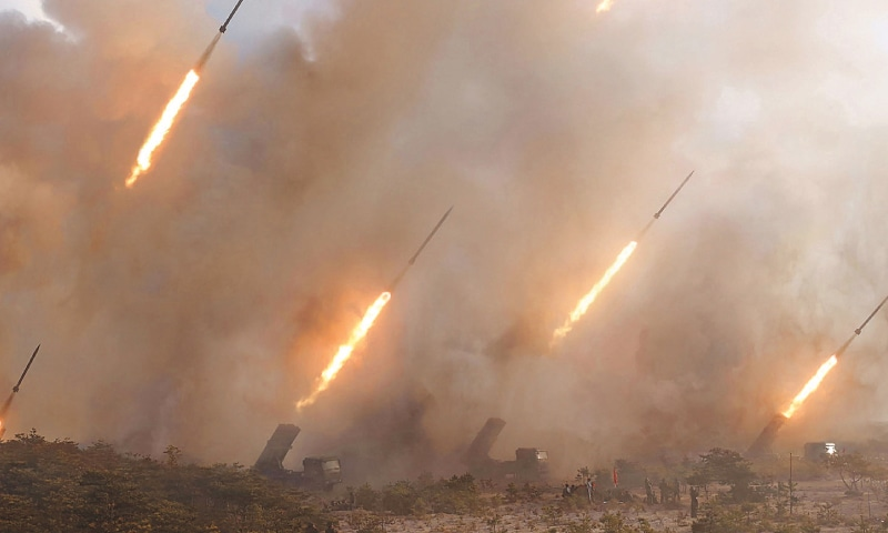 North Korea tests 'ballistic missiles'; South sees it as move to grab attention