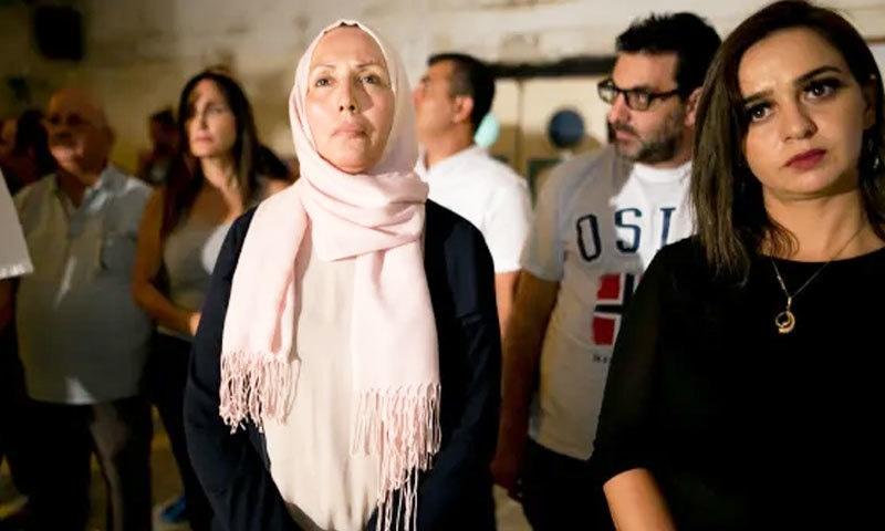 ایمان یاسین خطیب 2 مارچ کے انتخابات میں کامیاب ہوئیں—فوٹو: ہارتز