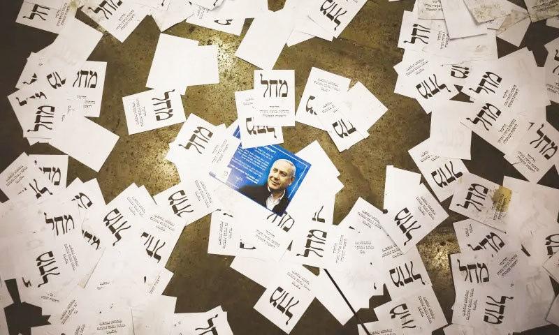 انتخابات میں کسی پارٹی نے واضح اکثریت حاصل نہیں کی مگر نیتن ہاہو اتحادی حکومت بنانے کا ارادہ رکھتے ہیں—فوٹو: رائٹرز