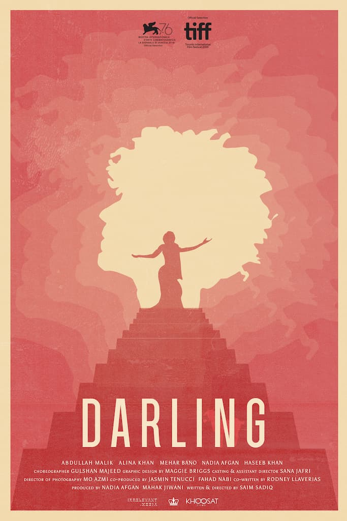 Movie poster for *Darling*