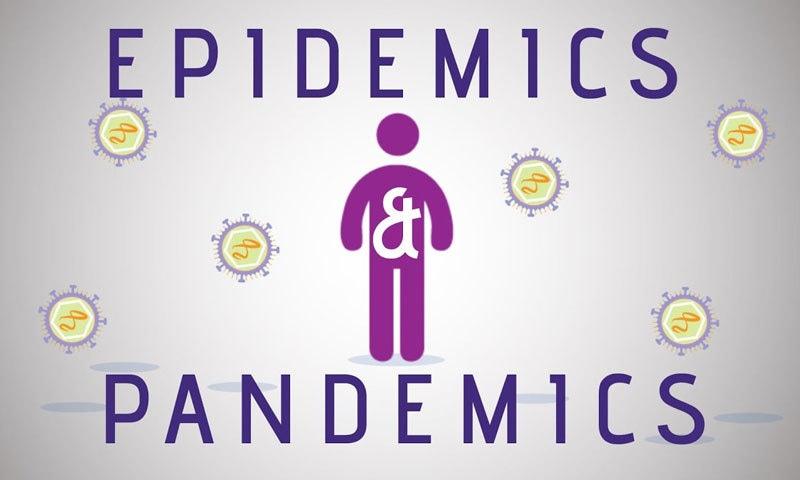 کسی بھی بیماری کو پہلے وبا اور پھر عالمی وبا قرار دیا جاتا ہے—اسکرین شاٹ/ یوٹیوب