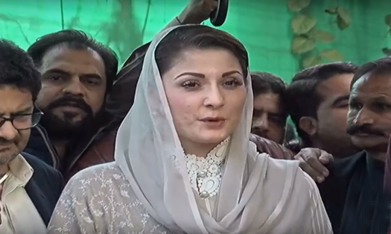 Maryam Nawaz says she will play her role whenever party leadership tells her to. — DawnNewsTV
