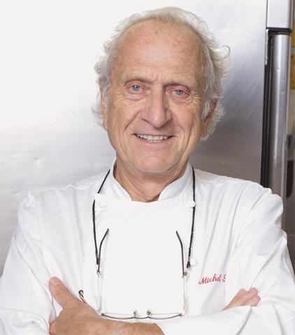 FRENCH-BORN chef Michel Roux.