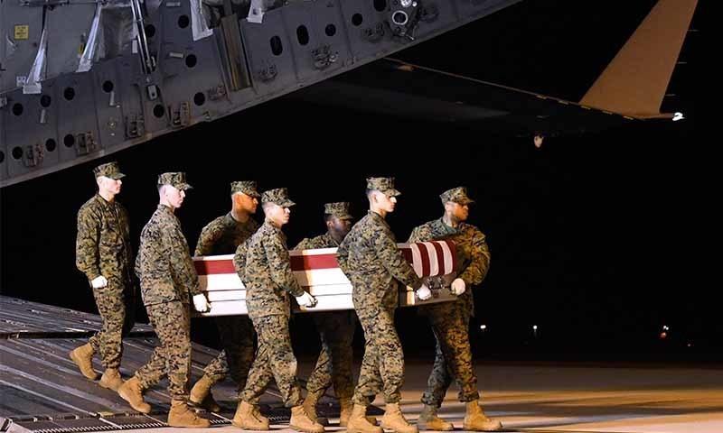 عراق: راکٹ حملے میں امریکی اتحادی افواج کے 3 اہلکار ہلاک
