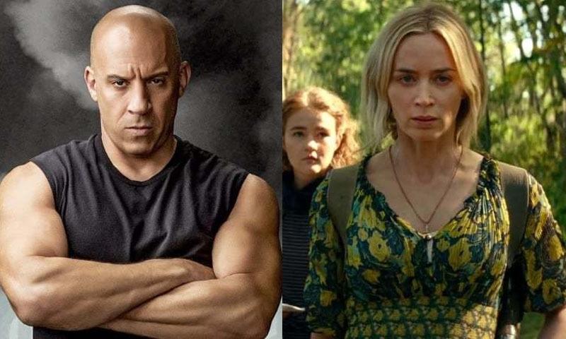 'جیمز بانڈ' کے بعد مزید ہولی وڈ فلموں کی ریلیز کورونا کے باعث مؤخر