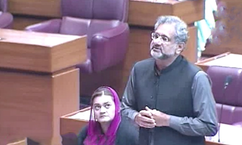 مسلم لیگ (ن) کا کورونا وائرس پر پارلیمان کا مشترکہ اجلاس بلانے کا مطالبہ