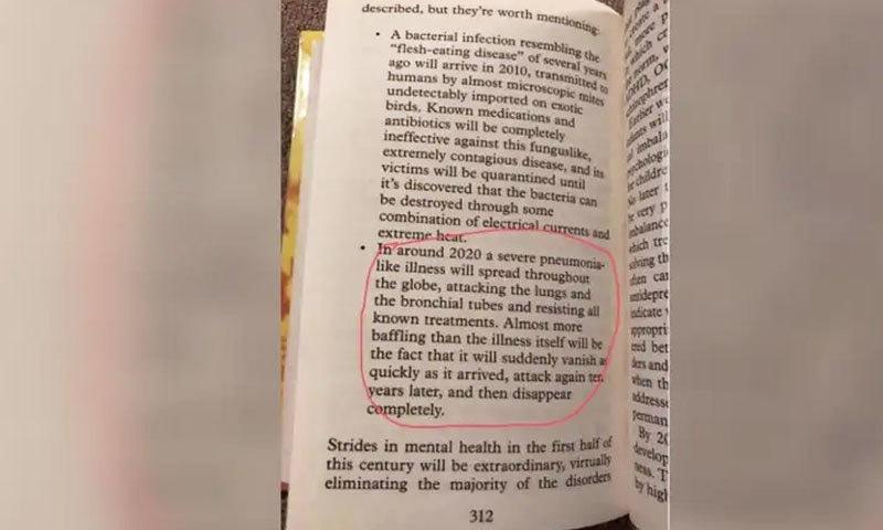 کورونا جیسی وبا کی پیش گوئی کرنے والی کتاب 2008 میں شائع ہوئی تھی—فوٹو: اسنوپس