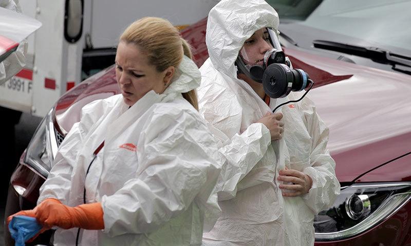 'کورونا وائرس سے 7 سے 15 کروڑ امریکی شہری متاثر ہوسکتے ہیں'