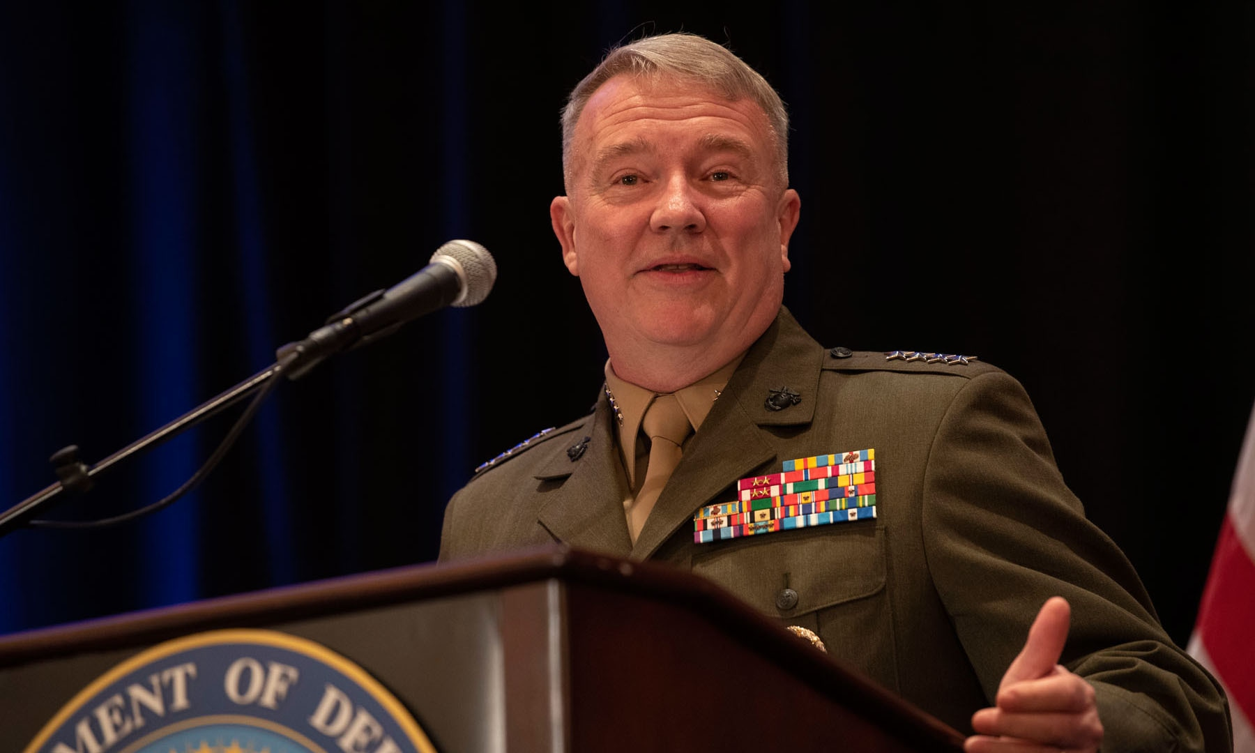 Gen Kenneth McKenzie hopes Taliban will fulfil commitments. — Public Domain
