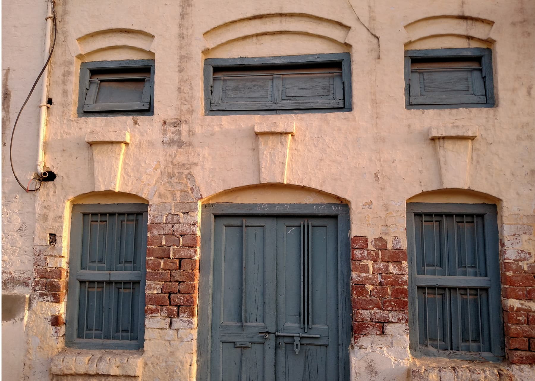 خیرپور کا ایک پرانا گھر—تصویر عبیداللہ کیہر