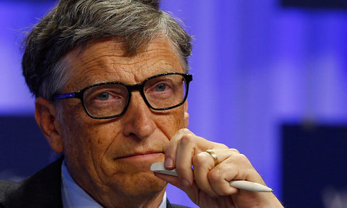Microsoft Founder Bill Gates. — Reuters