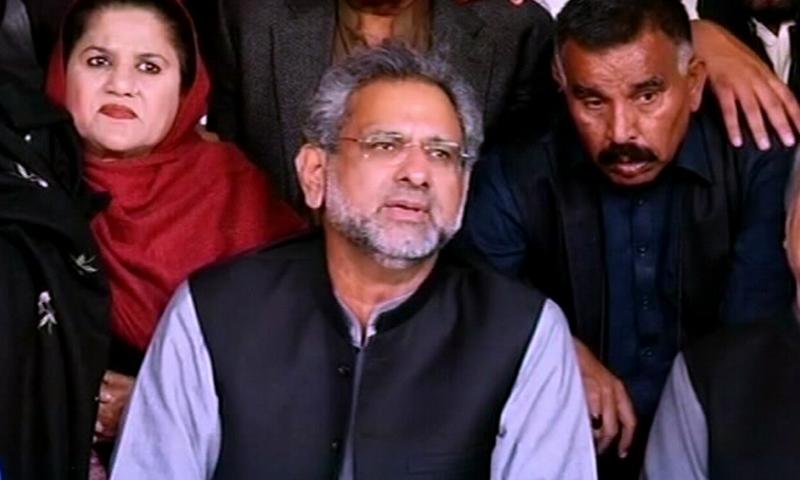 مہنگائی کی وجہ حکومت ہے جو عوام کی نمائندہ نہیں، شاہد خاقان عباسی