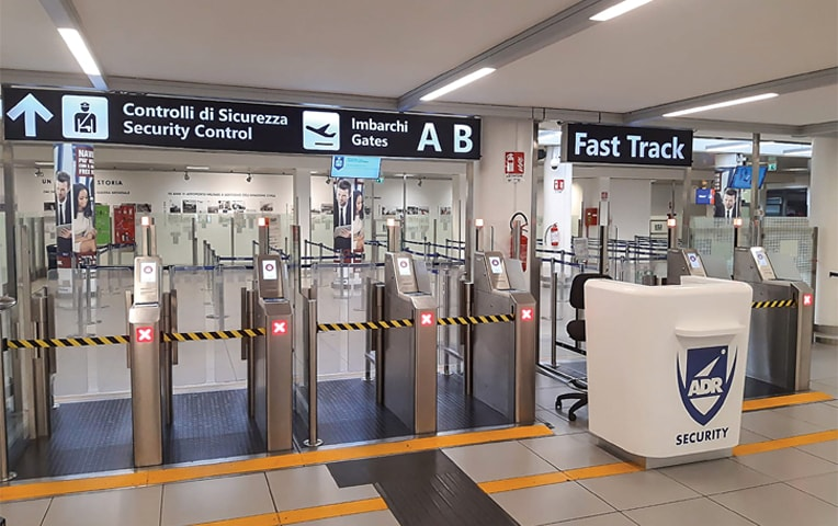 THIS handout photograph taken and released by Rome's Fiumicino Airport Authority on Saturday shows a closed passenger area of Ciampino airport, near Rome, during the COVID-19 outbreak.—AFP