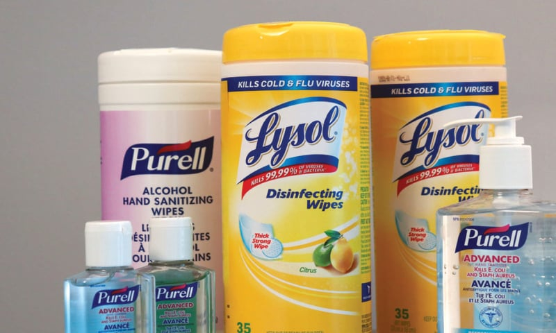 Cleaning product makers race to labs to bolster coronavirus claims