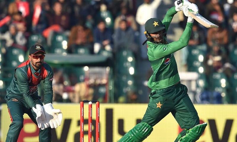 پاکستان اور بنگلہ دیش کے درمیان ایک روزہ میچ کھیلا جانا تھا—فائل فوٹو: اے ایف پی