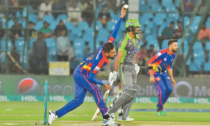 KARACHI Kings against Lahore Qalandars is set to be a blockbuster semi-final.—courtesy PCB