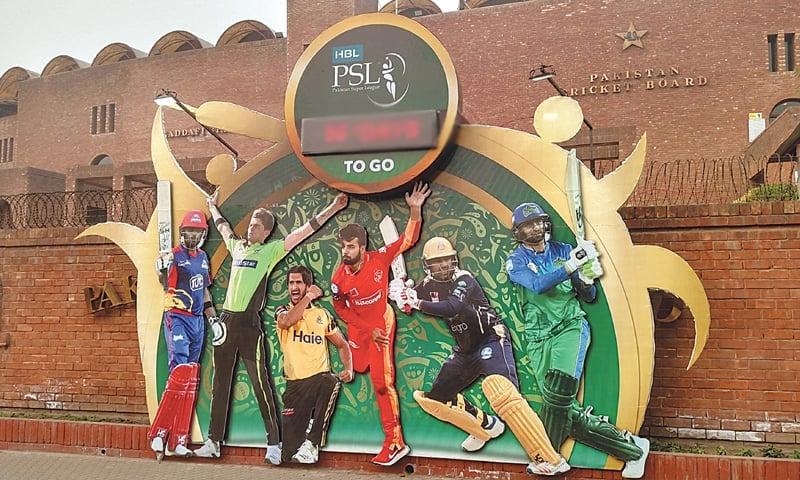 پاکستان سپر لیگ کا اختتام 18 مارچ کو ہونا تھا — فوٹو: ڈان نیوز
