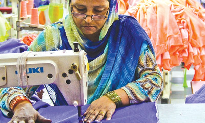 Exports of ready-made garments during February surged by 24.4pc while those of knitwear — largest segment of textile-related exports — rose 20.29pc.