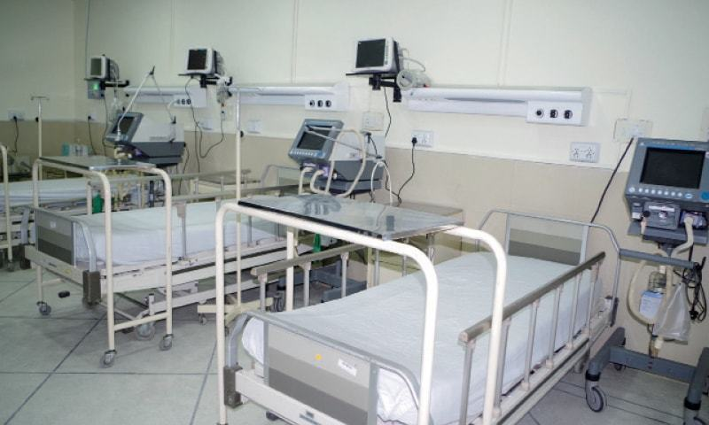 All patients admitted previously shifted to Allied, DHQ hospitals. —Dawn/File