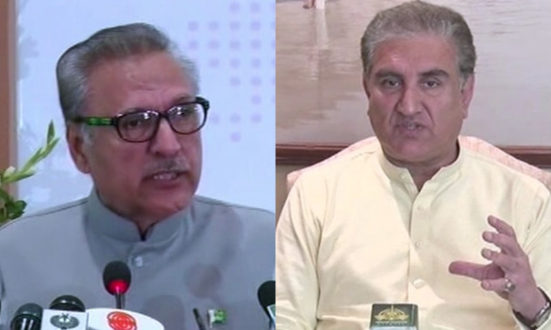 President Alvi, FM Qureshi test negative for COVID-19 on return from China