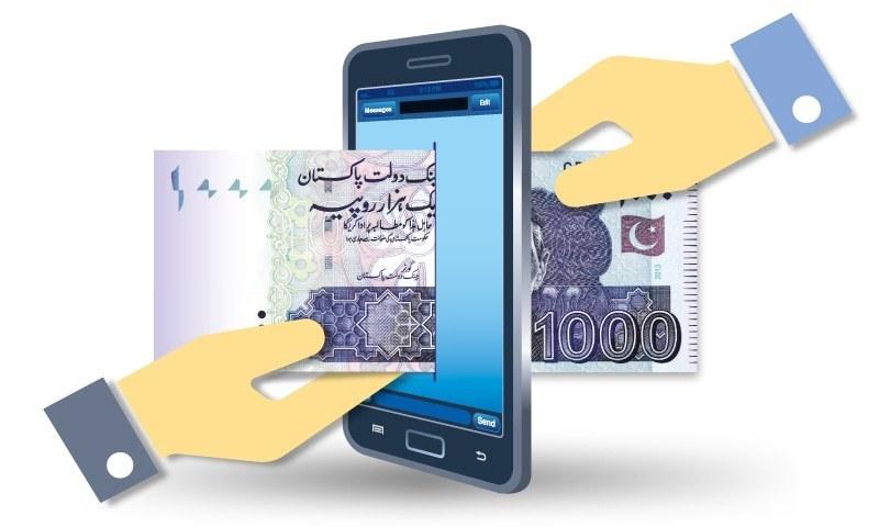 آن لائن بینکنگ کے ذریعے رقم کی منتقلی کے تمام چارجز معاف کردیے گئے—فائل فوٹو: ارورا