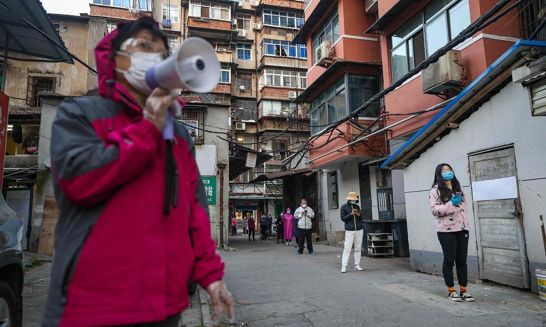 چین کے شہر ووہان سے نئے نوول کورونا وائرس کووِڈ 19کا پھیلاﺅ شروع ہوا تھا—فوٹو: اے پی