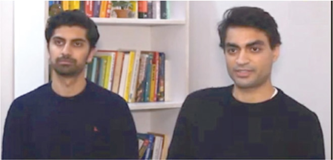 SafePay co-founders Raza Naqvi and Ziyad Parekh.